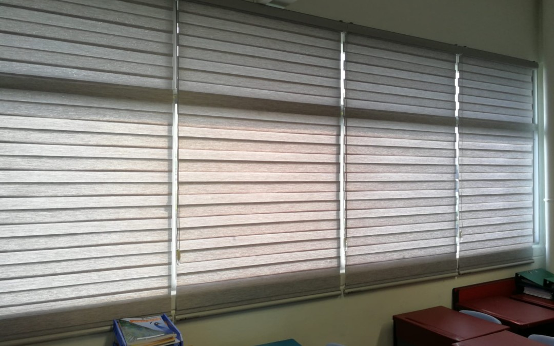 Combi Blinds at Tamil Cube Learning Centre