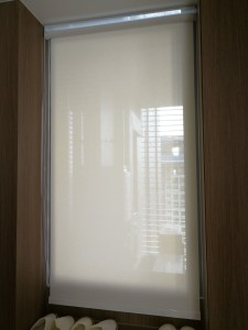 Perforated blinds at living room (2)