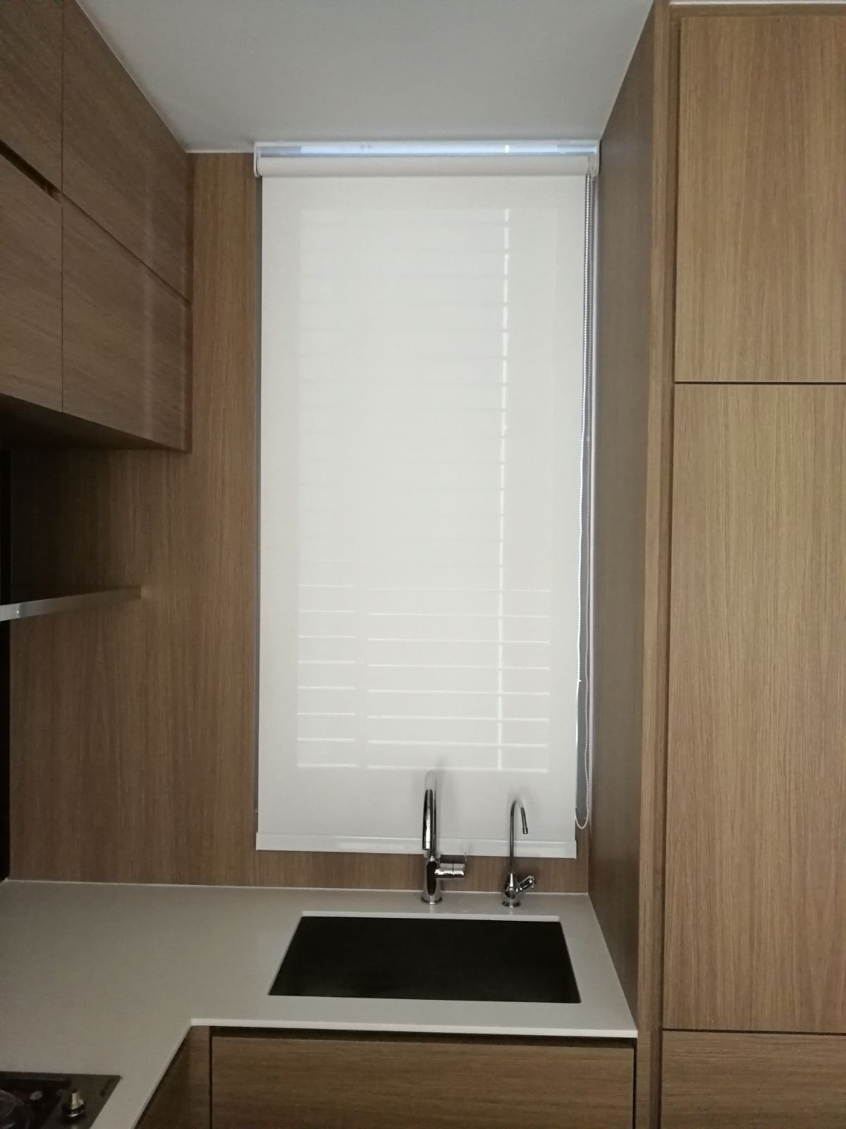 Condo Echleon Perforated Amp Blackout Roller Blinds
