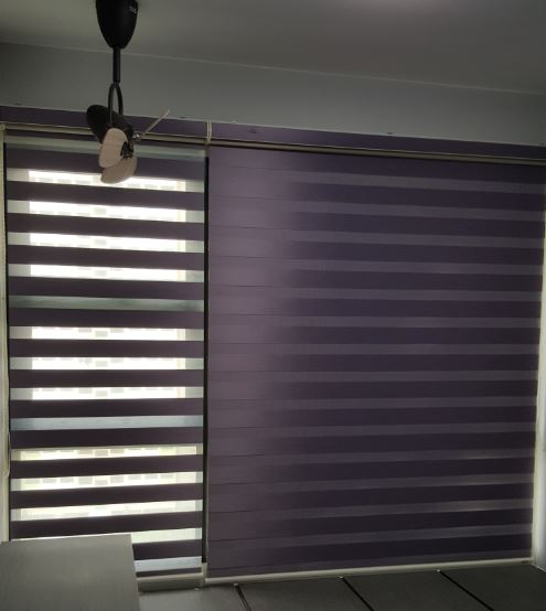 Rainbow Blinds in Singapore | Semi Auto