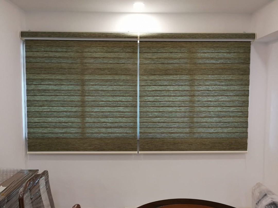 Dualshade & Curtains @ Woodlands HDB