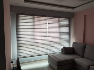 Semi Auto (Hold Down) Combi Blinds (2)