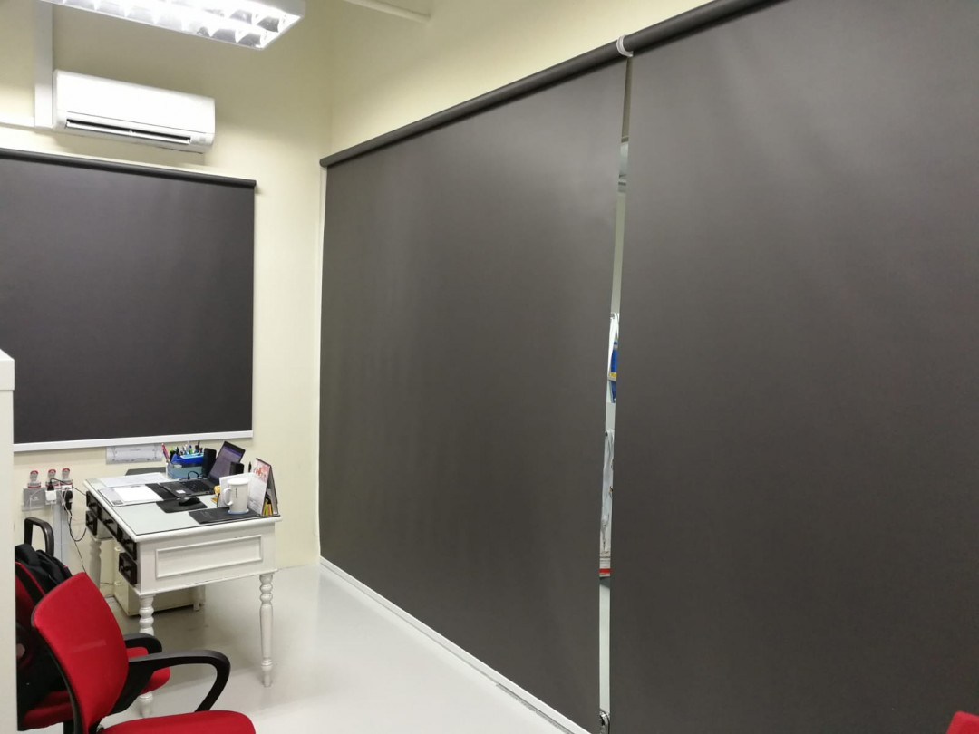Blackout Roller Blinds at Link@AMK