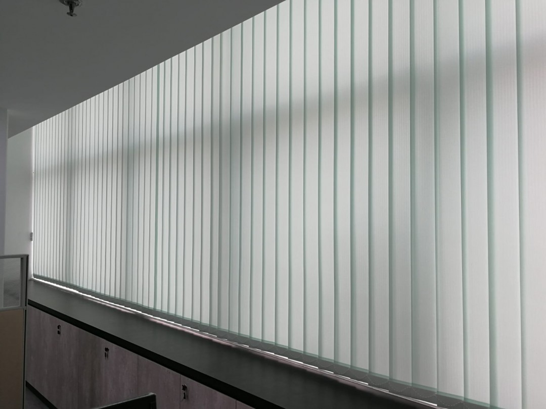 Dimout Vertical Blinds @ WCEGA Plaza