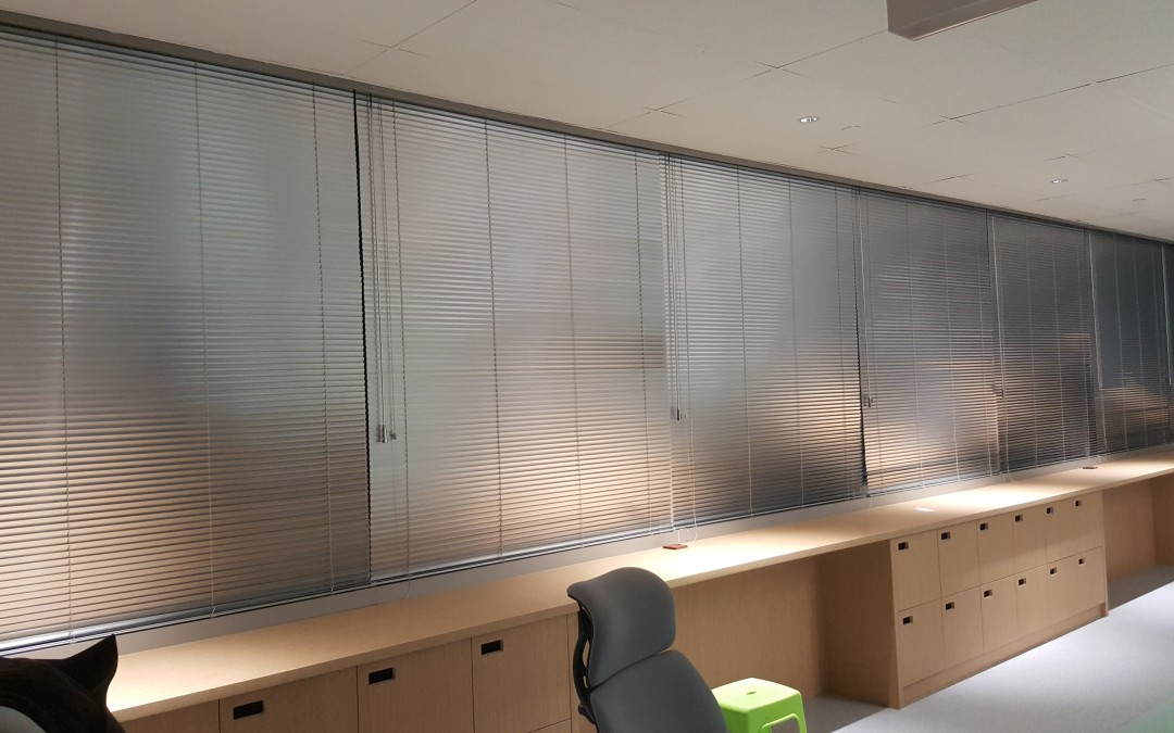 Office blinds or curtains in Singapore?