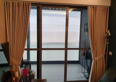 S Fold Curtains @ The Alps Residences