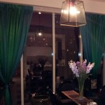 two toned curtains | sewed together | custom made | singapore mtm curtains | mtm curtains