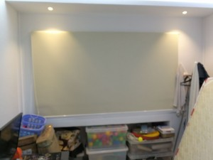 Creme Roller Blinds Installation at Toa Payoh HDB (1)