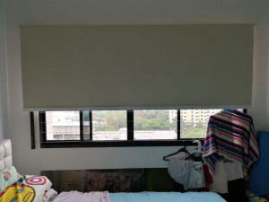 Creme Roller Blinds Installation at Toa Payoh HDB (5)