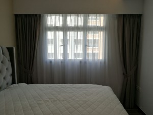 Dim out curtains at Canberra Street Installation from Singapore MTM Curtains (4)