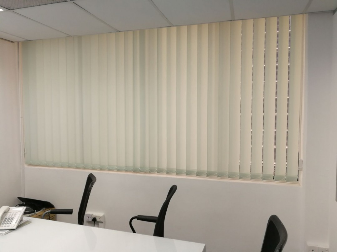 Office Vertical Blinds – Anson Road