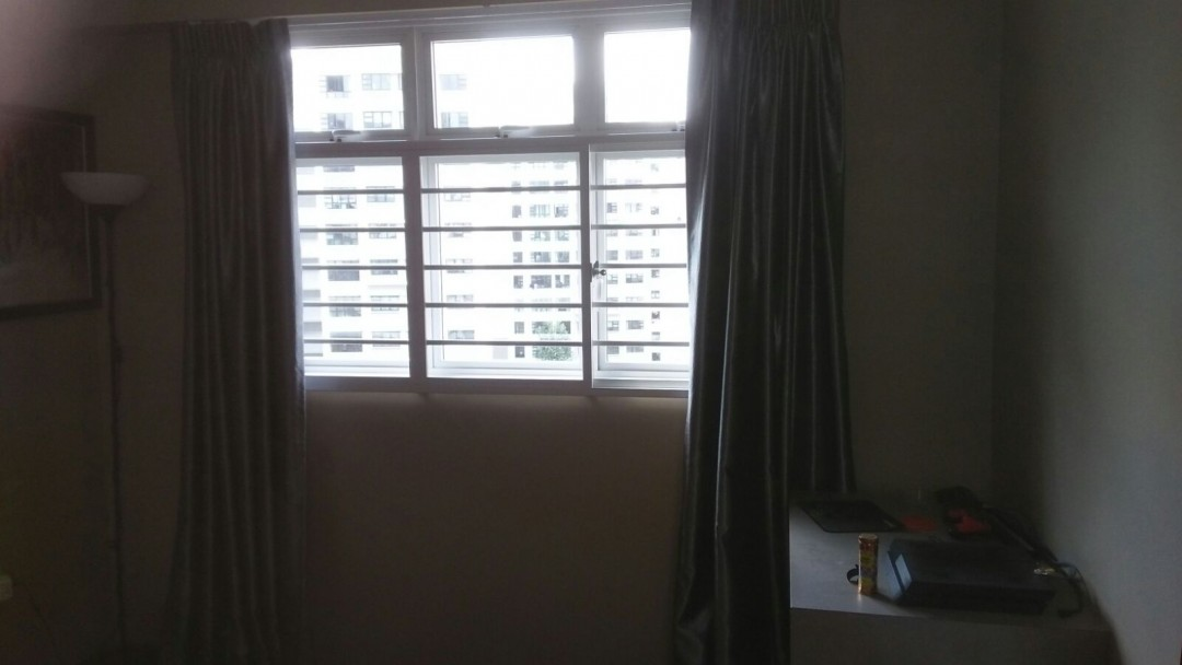 Window Grille & Curtains Installed @ Yishun
