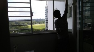 Window grille and curtains install at yishun