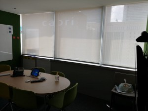 Office Perforated Roller blinds (2)