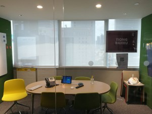 Office Perforated Roller blinds (3)