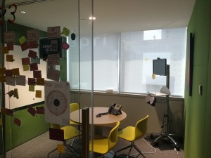Office Perforated Roller blinds (4)