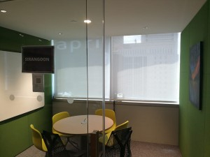 Office Perforated Roller blinds (5)