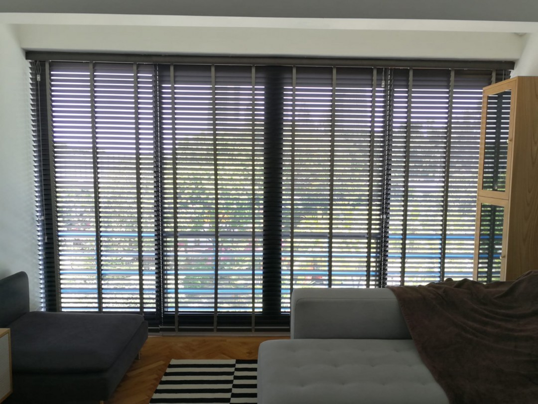 Timber blinds & outdoor blinds at Telok Blangah