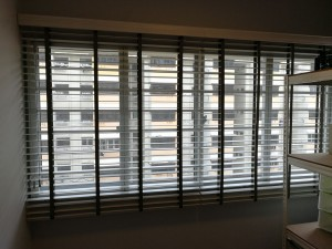 venetian blinds installation work (2)