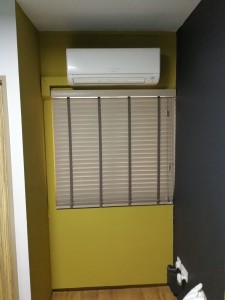 venetian blinds installation work (5)