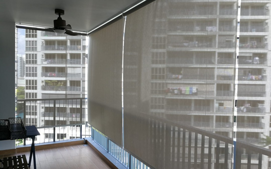 Upper Serangoon – Outdoor Roller Blinds